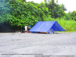Camping-tour-in-manokwari